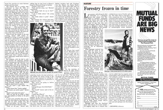 Article Preview: Forestry frozen in time, September 1986 | Maclean's