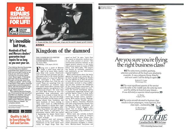 Article Preview: Kingdom of the damned, September 1986 | Maclean's