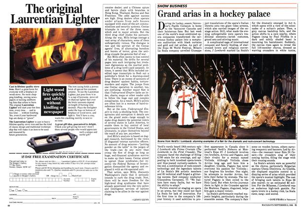 Article Preview: Grand arias in a hockey palace, September 1986 | Maclean's