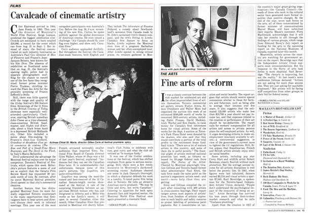 Article Preview: Fine arts of reform, September 1986 | Maclean's
