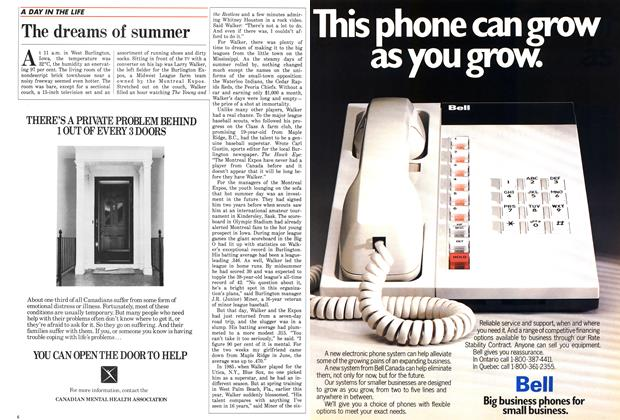 Article Preview: The dreams of summer, September 1986 | Maclean's
