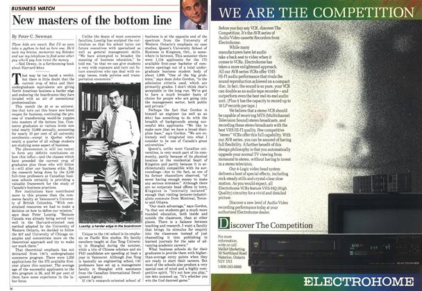Article Preview: New masters of the bottom line, September 1986 | Maclean's