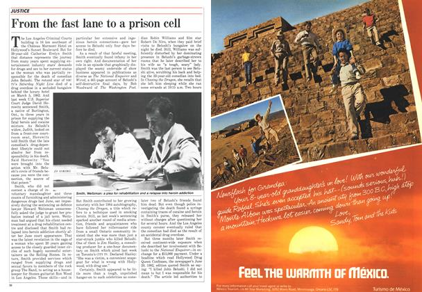 Article Preview: From the fast lane to a prison cell, September 1986 | Maclean's