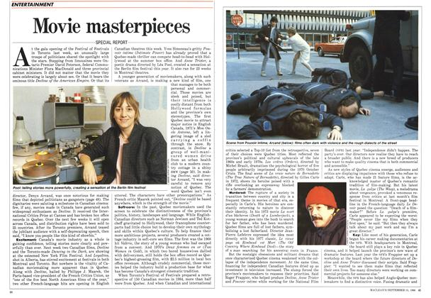 Article Preview: Movie masterpieces, September 1986 | Maclean's