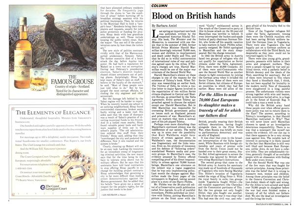 Article Preview: Blood on British hands, September 1986 | Maclean's
