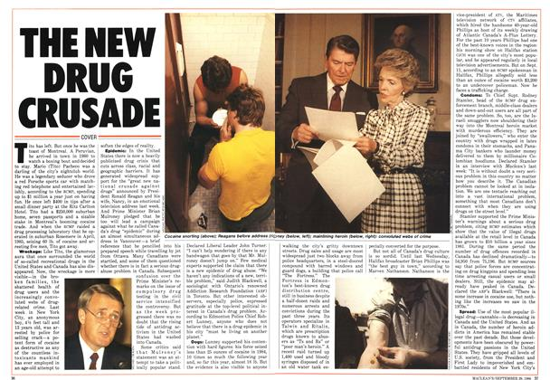 Article Preview: THE NEW DRUG CRUSADE, September 1986 | Maclean's