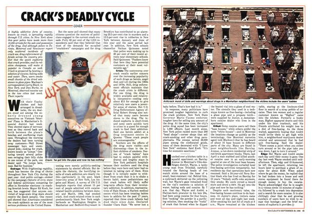 Article Preview: CRACK'S DEADLY CYCLE, September 1986 | Maclean's