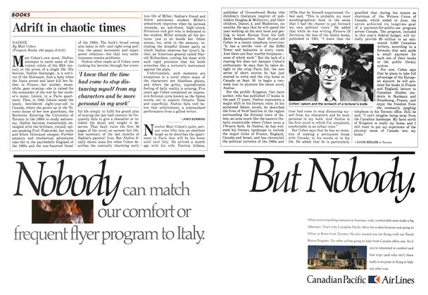 Article Preview: Adrift in chaotic times, September 1986 | Maclean's