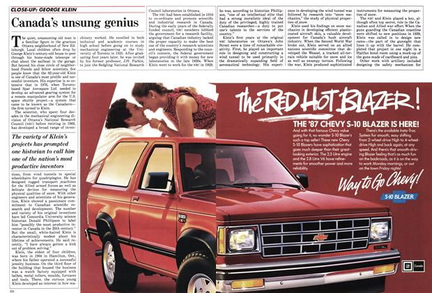 Article Preview: Canada's unsung genius, October 1986 | Maclean's