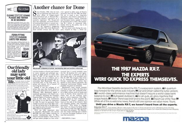 Article Preview: Another chance for Dome, October 1986 | Maclean's