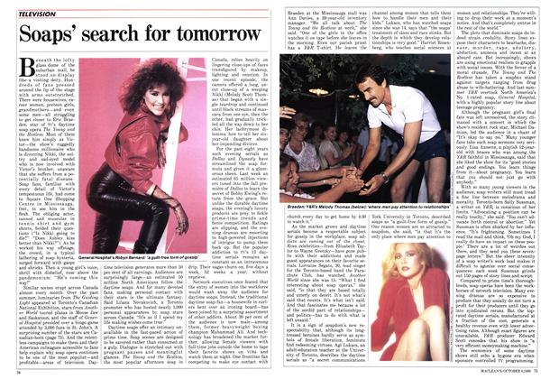 Article Preview: Soaps' search for tomorrow, October 1986 | Maclean's