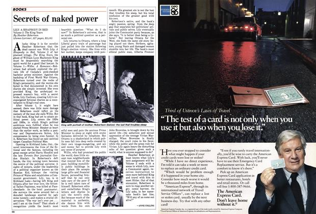 Article Preview: Secrets of naked power, October 1986 | Maclean's