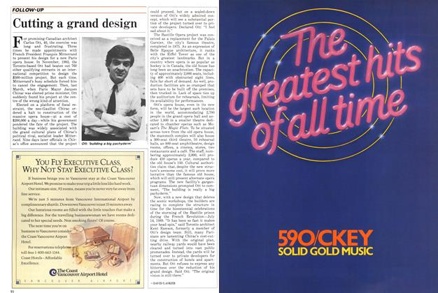 Article Preview: Cutting a grand design, October 1986 | Maclean's