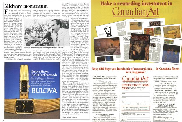 Article Preview: Midway momentum, October 1986 | Maclean's