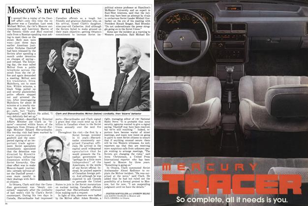 Article Preview: Moscow's new rules, October 1986 | Maclean's