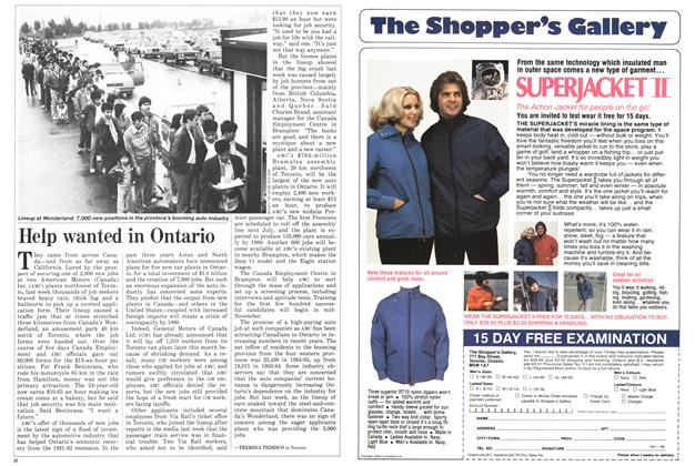 Article Preview: Help wanted in Ontario, October 1986 | Maclean's