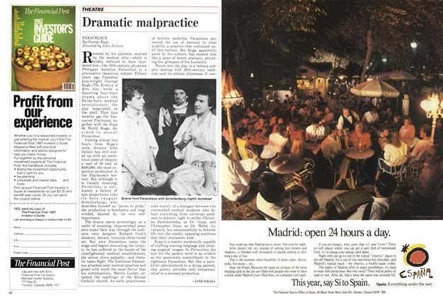 Article Preview: Dramatic malpractice, October 1986 | Maclean's