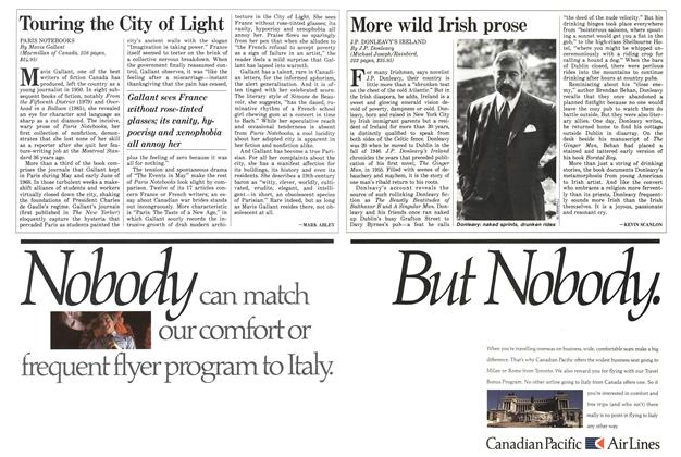 Article Preview: More wild Irish prose, October 1986 | Maclean's