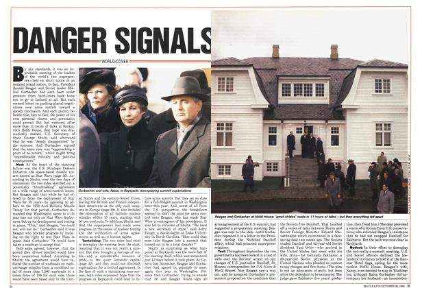 Article Preview: DANGER SIGNALS, October 1986 | Maclean's