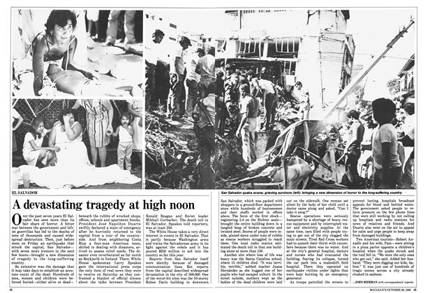 Article Preview: A devastating tragedy at high noon, October 1986 | Maclean's