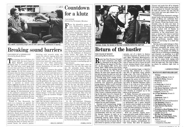 Article Preview: Countdown for a klutz, October 1986 | Maclean's