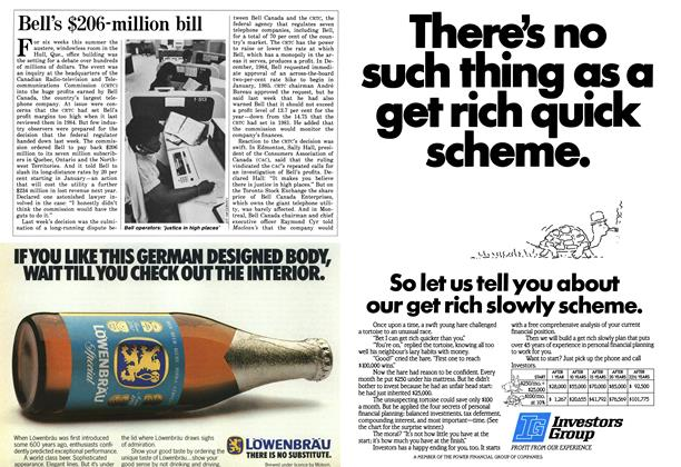 Article Preview: Bell's $206-million bill, October 1986 | Maclean's