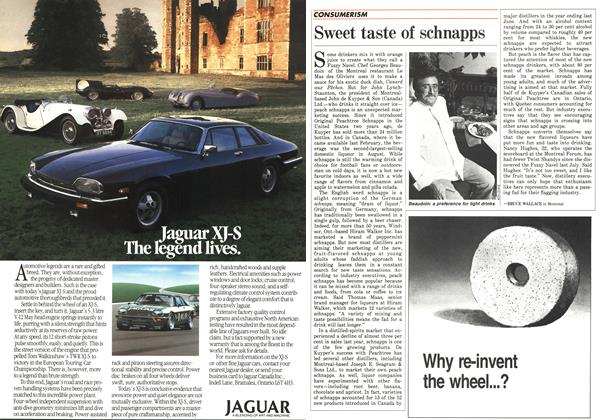 Article Preview: Sweet taste of schnapps, October 1986 | Maclean's