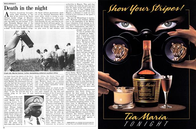 Article Preview: Death in the night, November 1986 | Maclean's