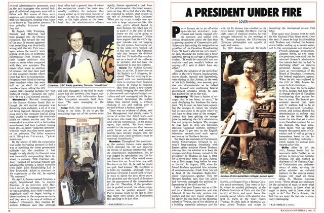 Article Preview: A PRESIDENT UNDER FIRE, November 1986 | Maclean's