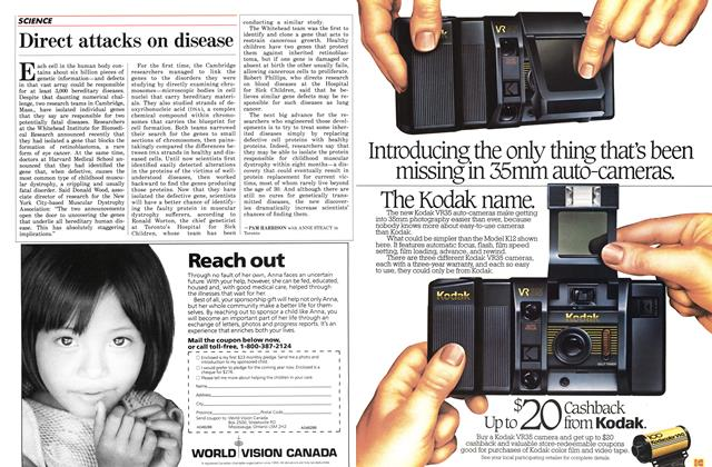Article Preview: Direct attacks on disease, November 1986 | Maclean's