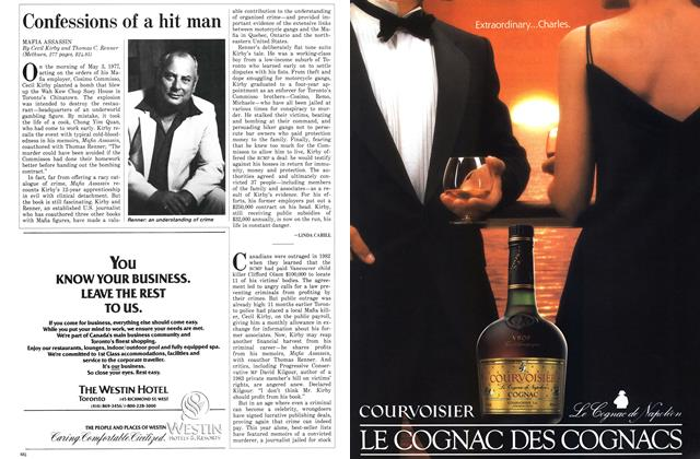 Article Preview: Confessions of a hit man, November 1986 | Maclean's