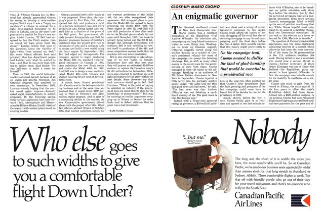 Article Preview: An enigmatic governor, November 1986 | Maclean's
