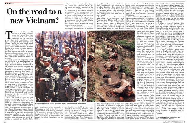 Article Preview: On the road to a new Vietnam?, November 1986 | Maclean's