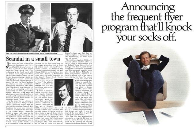 Article Preview: Scandal in a small town, November 1986 | Maclean's