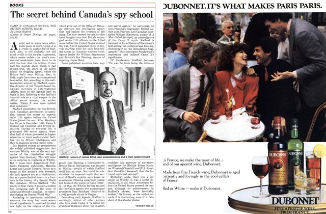Article Preview: The secret behind Canada's spy school, November 1986 | Maclean's