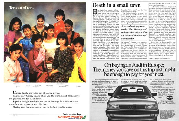 Article Preview: Death in a small town, November 1986 | Maclean's