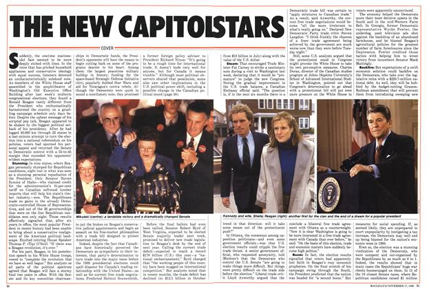 Article Preview: THE NEW CAPITOL STARS, November 1986 | Maclean's
