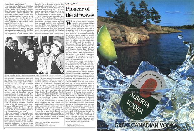 Article Preview: Pioneer of the airwaves, November 1986 | Maclean's