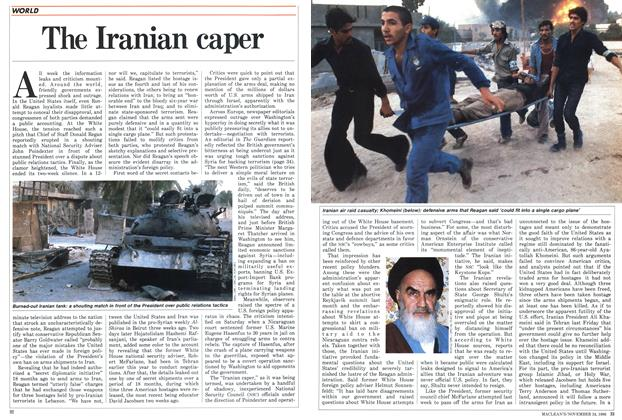 Article Preview: The Iranian caper, November 1986 | Maclean's
