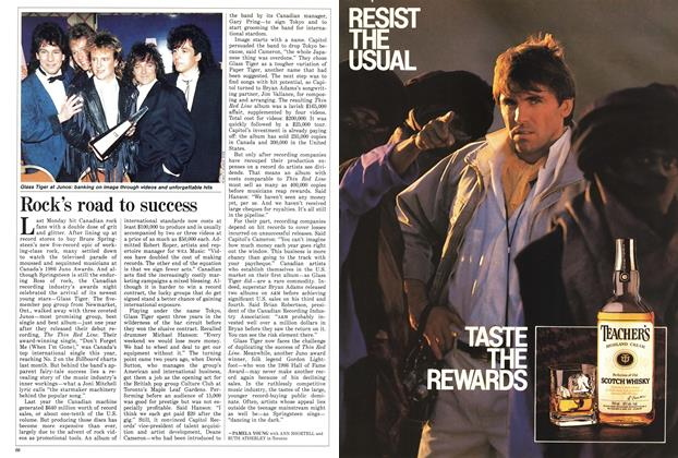 Article Preview: Rock's road to success, November 1986 | Maclean's