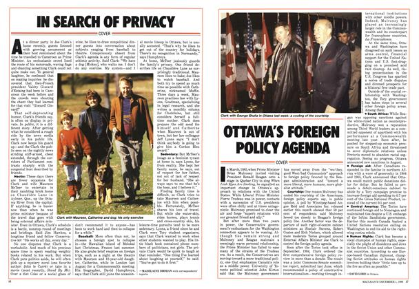 Article Preview: IN SEARCH OF PRIVACY, December 1986 | Maclean's