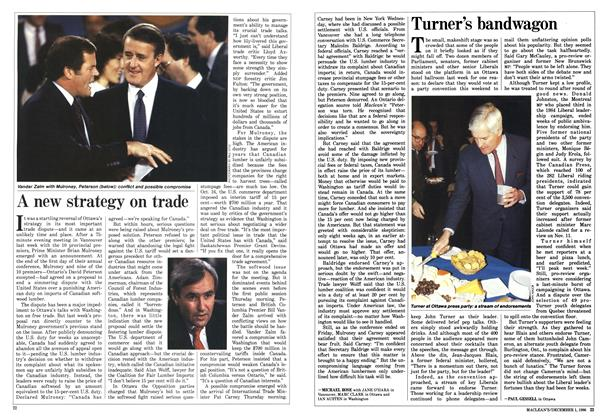Article Preview: A new strategy on trade, December 1986 | Maclean's
