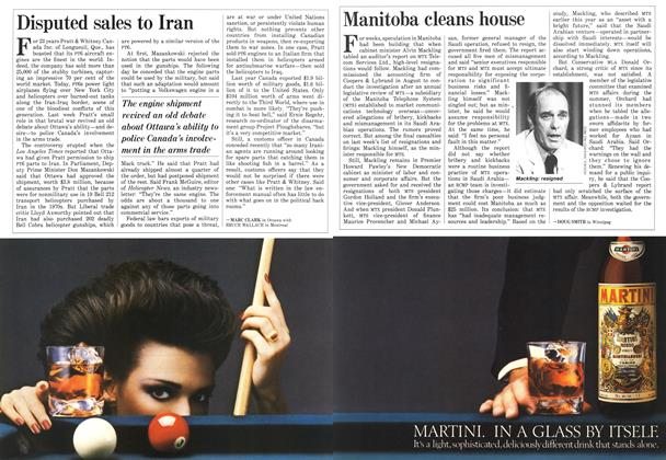 Article Preview: Disputed sales to Iran, December 1986 | Maclean's