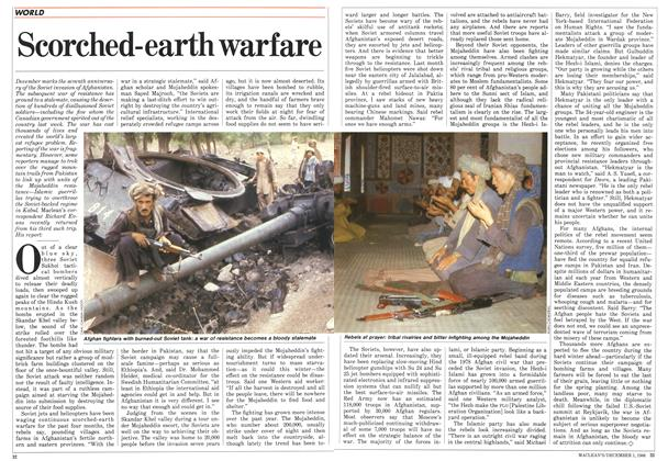 Article Preview: Scorched-earth warfare, December 1986 | Maclean's