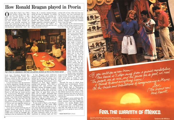 Article Preview: How Ronald Reagan played in Peoria, December 1986 | Maclean's