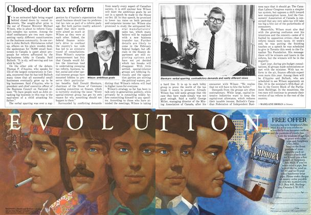 Article Preview: Closed-door tax reform, December 1986 | Maclean's