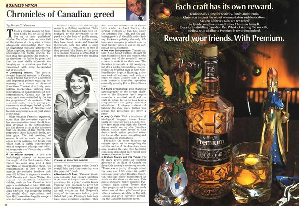 Article Preview: Chronicles of Canadian greed, December 1986 | Maclean's