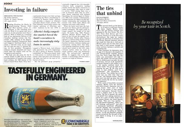 Article Preview: Investing in failure, December 1986 | Maclean's