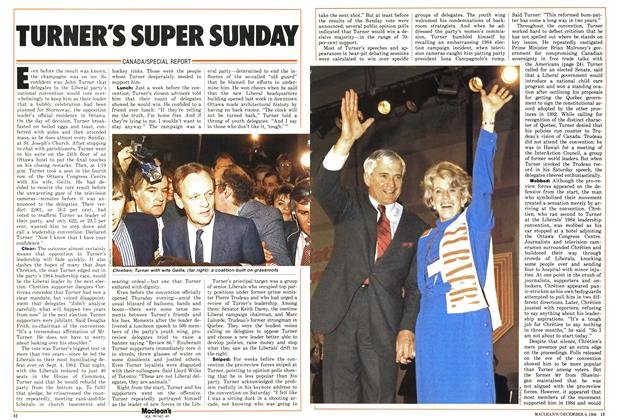 Article Preview: TURNER'S SUPER SUNDAY, December 1986 | Maclean's