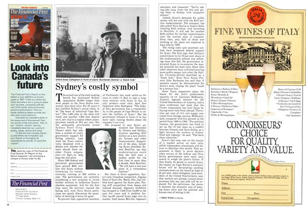 Article Preview: Sydney's costly symbol, December 1986 | Maclean's